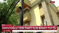 İşte Davutoğlu'nun parti binası: Deri koltuğu bile hazır