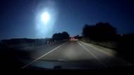 İtalya'ya meteorun düşme anı görüntüleri