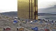 Trump Grönland'a taktı: Devasa Trump Towers'ı photoshopla adanın ortasına kondurdu