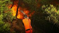 İzmir'deki yangında talimat almadan su sıkmıyorlar