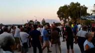 Datça'daki kayyum protestosunda 21 gözaltı