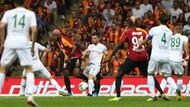Galatasaray Konyaspor'la beraberliğe razı oldu: 1-1