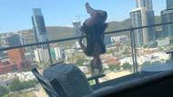 Balkon camında yoga yapan genç kadın 24 metreden yere çakıldı