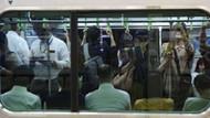 Japonya'da toplu taşıma araçlarındaki tacizler için çıkarılan damga yarım saat içinde tükendi
