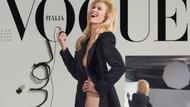 Claudia Schiffer ve Stephanie Seymour Vogue dergisi için soyundu