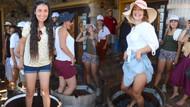 Muğla'da turistler akın etti şenlikten renkli görüntüler