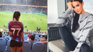 Trabzonsporlu futbolcunun Trabzon sevdalı sevgilisi Katerina Provaznikova