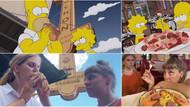 The Simpsons'ın ikonik yemek sahnelerini canlandırdılar!