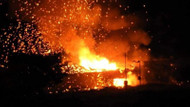 KKTC'de askeri bölgede peş peşe patlamalar