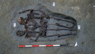Modenalı âşıklar olarak bilinen, el ele tutuşan iskeletler 2 erkeğe aitmiş