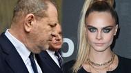 Cara Delevingne'den Harvey Weinstein'la ilgili taciz açıklaması