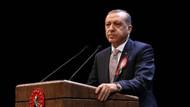 Erdoğan'dan barolara tepki Feyzioğlu'na teşekkür