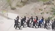 İşte Uygur Türklerine yönelik zulmün görüntüleri!