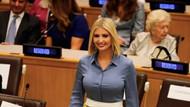 Ivanka Trump BM genel kurulunda sütyensiz konuşma yaptı