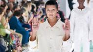 Gucci'nin deli gömleğini protesto eden modelden destekçilerine teşekkür