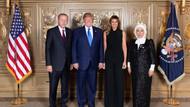 Erdoğan ve Emine Hanım, Trump ve Melania'nın konuğu oldu