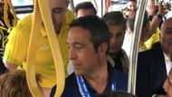 Ali Koç Fenerbahçe taraftarını Türk Telekom stadına uğurladı