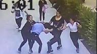 İzmir'de liseli kızların kavgası: 5 kızdan tekme tokat dayak
