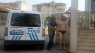 Sokakta iç çamaşırı ile dolaşan adam sosyal deneyim yapıyorum dedi
