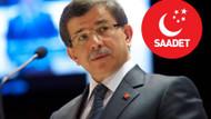 Davutoğlu, ekibiyle Saadet Partisi'ne mi katılıyor?