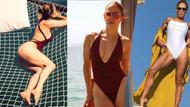 Jennifer Lopez tatil fotoğraflarıyla büyüledi!