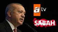 Erdoğan'dan Sabah ve Atv'nin sahibine vergi indirimi