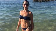 Brooke Shields'dan bikinili poz