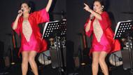 Deniz Seki kırmızı mini elbisesi ile dikkat çekti: Kırmızı rengi çok severim