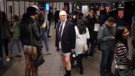 New York'ta pantolonsuz metro yolculuğu