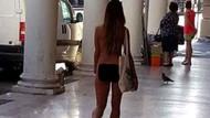 İtalya'da giyinmek istemiyorum diye gezen kadın 3 bin 300 euro ceza yedi
