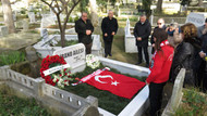 Mehmet Ali Birand ölümünün 7. yılında mezarı başında anıldı