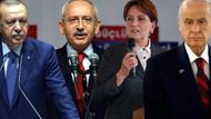 Son anket: AKP, CHP ve HDP meclise girebiliyor