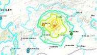 Türkiye'yi sarsan deprem sonrası ABD'den korkutan harita!
