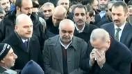 Cumhurbaşkanı Erdoğan, Elazığ'da katıldığı cenazede gözyaşlarını tutamadı