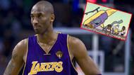 Çizgi filmde, Kobe Bryant'ın helikopter kazasında öldüğü 3 yıl önce gösterildi