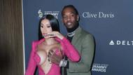 Cardi B ve Offset'in Grammy partisinin önüne geçmesine sosyal medyada tepki