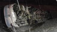 Erzincan'da yolcu otobüsü devrildi: Çok sayıda yaralı var