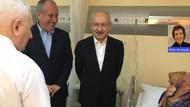 Kılıçdaroğlu'ndan Muharrem İnce'nin annesine hastane ziyareti