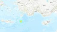 Marmaris açıklarında şiddetli deprem! Peş peşe artçı sarsıntılar yaşanıyor