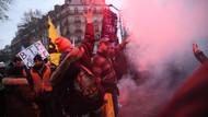Paris'te halk zenginlerin mekanını bastı