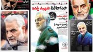 Kasım Süleymani suikastının ardından İran gazetelerinin manşetleri
