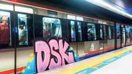 Marmaray'daki grafitiler 55 bin liraya temizlenecek