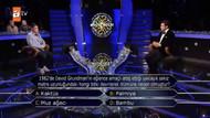 Kim Milyoner Olmak İster'de 125 bin TL değerindeki soru izleyenleri ekranlara kilitledi