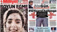 2019'un en çarpıcı manşeti seçildi: Boyun Eğme