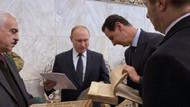 Putin Şam'da Esad'la Emevi Camii'ni ziyaret etti