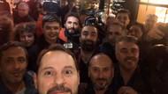 Berat Albayrak'tan yerli ve milli gazetecilik selfiesi