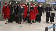 THY'nin Çin'den kalkan son uçakları İstanbul'a döndü