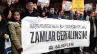 İBB'nin yüzde 35'lik ulaşım zammına protesto