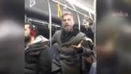Otobüste öpüşen çifte müdahale eden kişiye yolculardan tepki