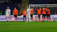 Başakşehir'den Beşiktaş'a 1-0'lık büyük darbe